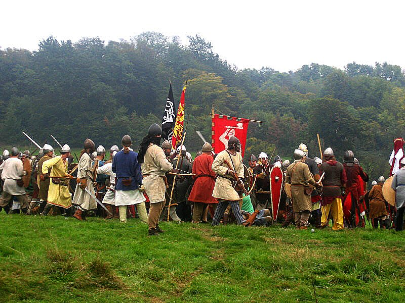 Battle of Hastings 1066. Battle,  East Sussex.UK. October 2005