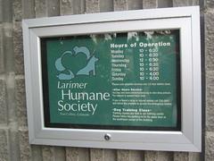 Larimer County Humane Society, Fort Collins, C...