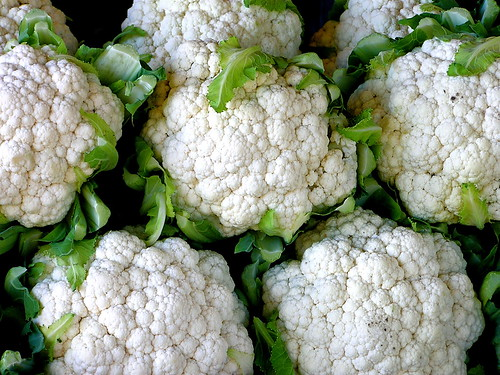 cauliflower by Muffet, on Flickr