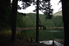 Olallie Lake at dusk (Mark Griffith) Tags: overnighter campout backpack hike hiking scouts youngmen acitivity olallielake kodyhayes milesgriffith