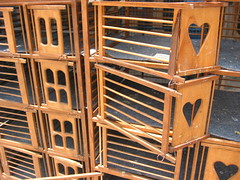 If you love them, set them free (Farl) Tags: burungdara racing pigeon cage wood heart freedom open cages pasuruan surabaya indonesia culture birds empty eastjava jawatimur java jawa