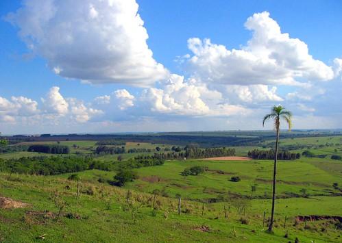 Vista da Fazenda Entre-Rios