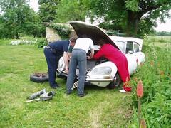 mechanics (daviddb) Tags: ds citroen cars automotive