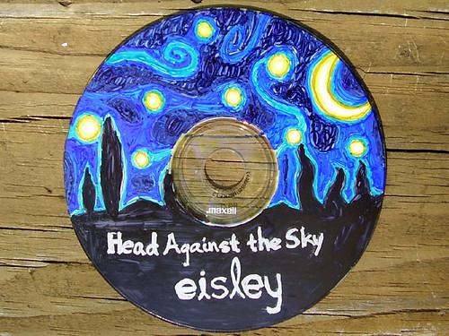 Head Against the Sky Custom CD Design