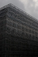 The Borg Cube of Paris (Giant Ginkgo) Tags: borg borgcube surreal france paris