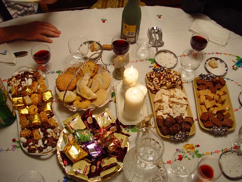 Dulces típicos Navidad