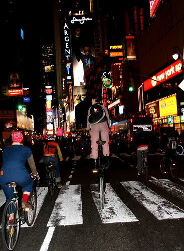 Critical Mass, NYC