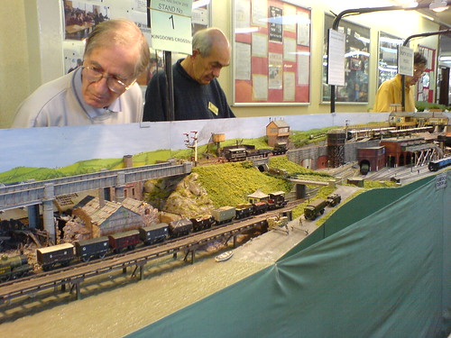 guys with model trains