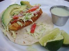 Fish tacos, Taqueria del Sol