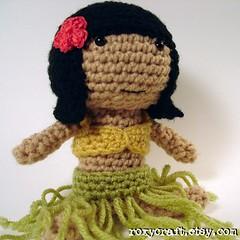 hula ramona 1 (Roxycraft) Tags: amigurumi softies plush mos crochet handmade