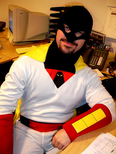 Space Ghost by Bryan Bruchman