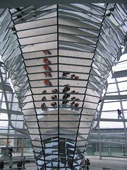 Inside the Reichstag (mikegoldabc) Tags: ber