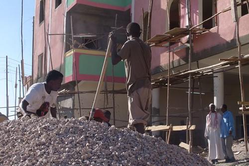 Building site, Hargeisa