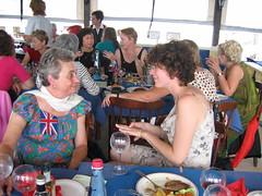 Kathy and Mickey on the Black Pearl (jermickey@sbcglobal.net) Tags: blackpearl taxbiex mickeythies kathymillatt nancywright ingridhummelshoj deenoble