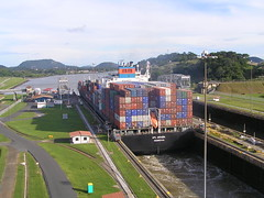 Altlantic - Pacific Shortcut - Miraflores Locks Panama