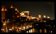 My GolDen CiTy (Miss Art) Tags: gold light night old palm jumaira madena city madenatjumaira lights uae dubai dxb emirates