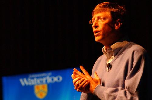 Bill Gates @ the University of Waterloo