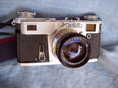Kiev 4 with Helios-103 50mm lens (jiulong) Tags: camera kiev4 helios103