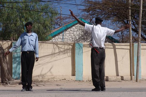 Hargeisa traffic police