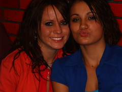 Shauntae and Lacey(me) (Lacey Dawn) Tags: kiss thest lucious lips sexy women girls parties out control crazy fun times