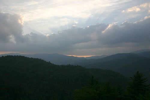 Sunset Over Cataloochee Valley