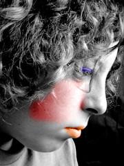 masked (BsonK) Tags: masked demented me blackandwhite