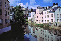 Luxembourg Reflections (laurenz) Tags: reflection water wasser reflected mirrored luxembourg spiegelbild luxemburg reflektion laurenz gespiegelt lbobke