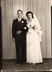 Jaye & Mary - April 24, 1946 (Mary Stover) Tags: oldfamilyphotos stoverfamily