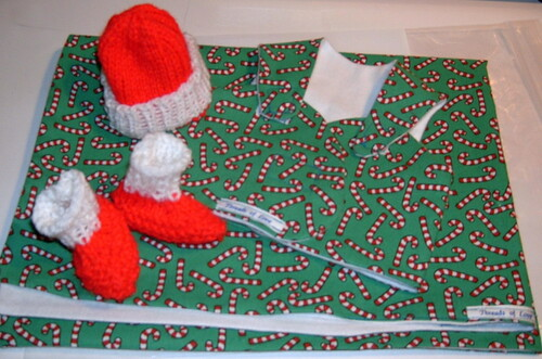 Candy Cane Sleepy Vest Packet