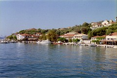Greece 4 600 - 26 (Anyhoo) Tags: sea reflection water boats coast boat village harbour quay greece shore ioniansea ionian ionianislands kalamos ionion kalamoskalamos greece4 anyhoo photobyanyhoo
