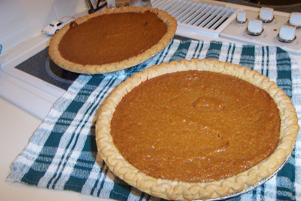 My, my my..sweet potato pie!!