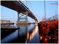 benfranklin2 (paul drzal) Tags: bridge blue franklin ben centercity philly benfranklinbridge benfranklin delawareriver