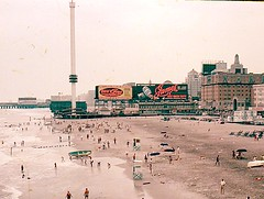 View of Atlantic City NJ before casinos