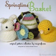 springtimebasketlogo (Roxycraft) Tags: amigurumi softies plush mos crochet handmade