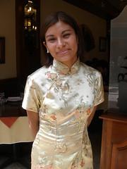 Chinese-Peruvian (quinet) Tags: portrait woman peru beautiful dress lima silk chineseperuvian перуанцы
