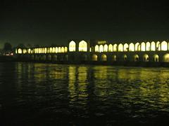 خواجو در شب بارانی (kian1) Tags: ايران اصفهان خواجو شب بارانی isfahan bridge khajoo esfahan iran