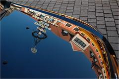 Spiegelei (BlueBreeze) Tags: street blue reflection car blau spiegelung speyer spiegelei thebiggestgroup