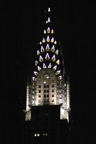 The Chrysler Building At Night. Chrysler Building by Night,