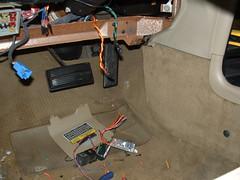 alarm car electrical lebaron