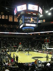 Home of the Spurs (cover2) Tags: usa basketball sanantonio texas arenas nba detroitpistons sanantoniospurs attcenter exchangesemesterusa200506 detroitpistonssanantoniospurs