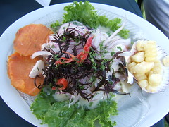 Ceviche (sterestherster) Tags: travel fish peru southamerica comida latinoamerica esther arequipa ceviche traditionalfood comidaperuana peruvianfood zuidamerika tbg thebiggestgroup peruvianimages cuisinepruvienne