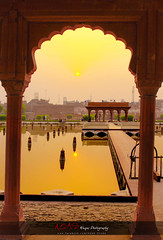 Royal Morning (AQAS) Tags: old pakistan sunset building art history architecture sunrise garden structure historical ruler lahore masterpiece nobel mughal walledlahore