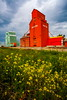 By Gone Era (stevenbulman44) Tags: red summer cloud color museum canon landscape town filter alberta grainelevator nanton 1740f40l