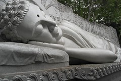 A Giant Sleeping Buddha (boergesmalls) Tags: sleeping sculpture statue religious temple sleep buddha buddhist religion relaxing culture dreaming vietnam nhatrang khanhoa