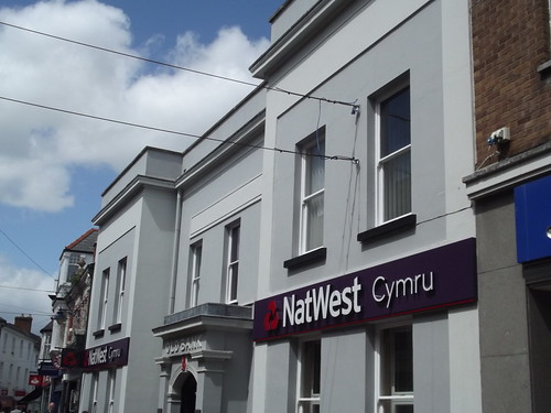 NatWest Cymru - Old Bank - High Street, Abergavenny
