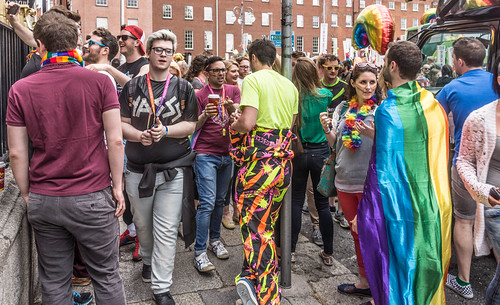DUBLIN 2015 LGBTQ PRIDE PARADE [WERE YOU THERE] REF-105958