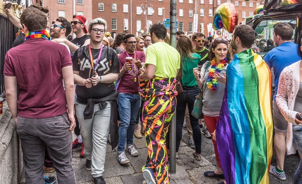 DUBLIN 2015 LGBTQ PRIDE PARADE [WERE YOU THERE] REF-105958