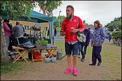 Wearing pink sneakers (www.nielsdejgaard.dk) Tags: pink man mand tisvilde lyserd pinksneakers biirkepladsen lyserdesneakers