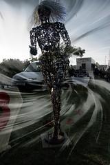 ~She Runs_DSC02593_pe (Ian Gearing) Tags: camera uk england sculpture west bike club night reflex mare somerset mini super scrap beech weston groups wsm kinghtstone