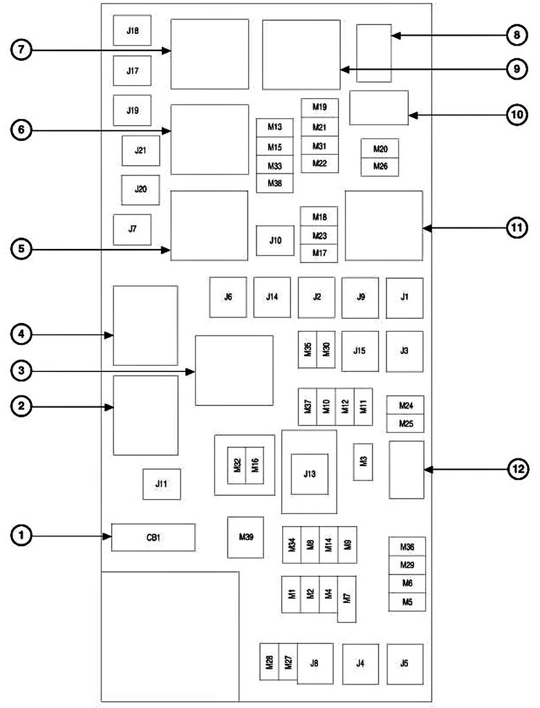 33 2006 Jeep Commander Interior Fuse Box Diagram